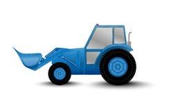 Laddare för stort hjul royaltyfri illustrationer