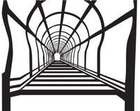 Ladde tunel ilustracja wektor