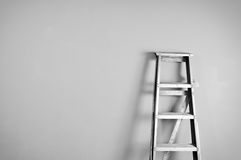 Ladder. Still life picture of ladder on the wall Royalty Free Stock Images