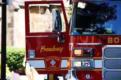 LADDER 17 EMERGENCY RESPONSE Royalty Free Stock Photos