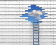 Ladder royalty free illustration