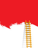 Ladder. Illustration of ladder like advertisement concept vector illustration