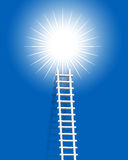 Ladder. Illustration of ladder like advertisement concept royalty free illustration