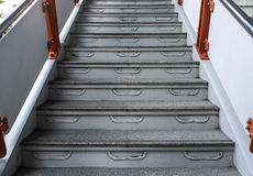 Ladder aan Station stock foto's