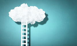 Ladder As Progress Concept Royalty Free Stock Image