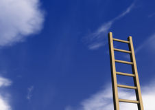 Ladder Sky Stock Photography
