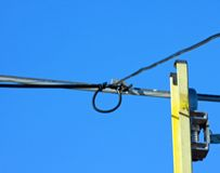 Ladder For Cable Modem-TV Stock Photography