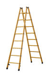 Ladder (Clipping path) isolated on white background  Stock Photos