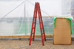 Ladder construction Royalty Free Stock Image