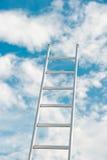 Ladder in de hemel royalty-vrije stock foto's