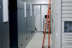 Ladder in de Zaal van de Apparatuur Royalty-vrije Stock Afbeelding