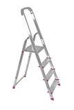 Ladder die op wit wordt geïsoleerdn Royalty-vrije Stock Afbeelding