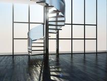 Ladder in een binnenland Royalty-vrije Stock Afbeelding