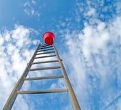 Ladder en emmer stock foto's