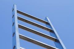 Ladder en hemel stock afbeeldingen