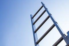 Ladder en hemel royalty-vrije stock foto