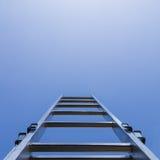 Ladder en hemel royalty-vrije stock afbeelding