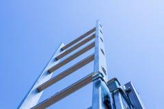 Ladder en hemel stock foto