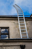 Ladder going up in to the sky Royalty Free Stock Photography