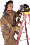 Ladder happy Royalty Free Stock Photo