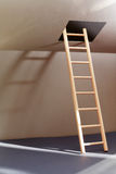 Ladder In Hatch Stock Images