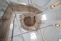 Ladder in Holy Resurrection cathedral Stock Image