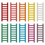 Ladder icons set. Vector icon Stock Photo