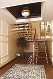 Ladder indoors Stock Image