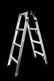 Ladder Isolated. On black background Stock Image