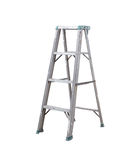 Ladder isolated . Ladder isolated on white background Stock Photo