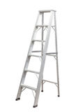 Ladder isolated . Royalty Free Stock Images