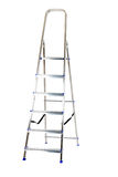 Ladder isolated Stock Photography