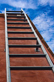 Ladder leading Stock Photo