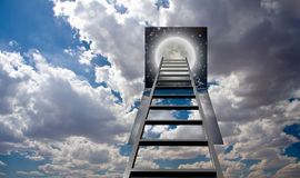 Ladder into Night Royalty Free Stock Photo