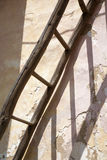 Ladder from old house Stock Images
