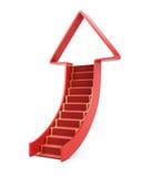 Ladder omhoog vector illustratie