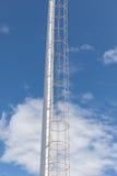 Ladder op Los Cristianos haven royalty-vrije stock afbeelding