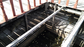 Ladder op Tonle-Sapalgemene vergadering Royalty-vrije Stock Foto