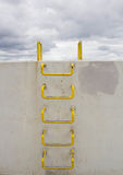 A Ladder over a wall Royalty Free Stock Image