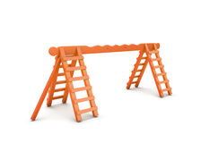Ladder for playground Stock Image