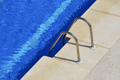 Ladder pool Royalty Free Stock Photo