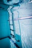 Ladder pool Stock Photo