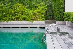 Ladder pool Royalty Free Stock Photo