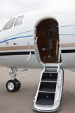 Ladder in a private jet Royalty Free Stock Photos