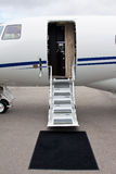 Ladder in a private jet Royalty Free Stock Image