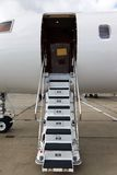 Ladder in a private jet Stock Photography