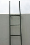 Ladder on rooftop Stock Images