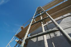 Ladder & Scaffolding royalty free stock images