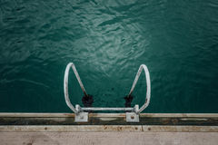 Ladder Into Sea Royalty Free Stock Images