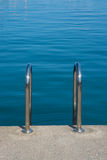 Ladder into the sea Royalty Free Stock Image